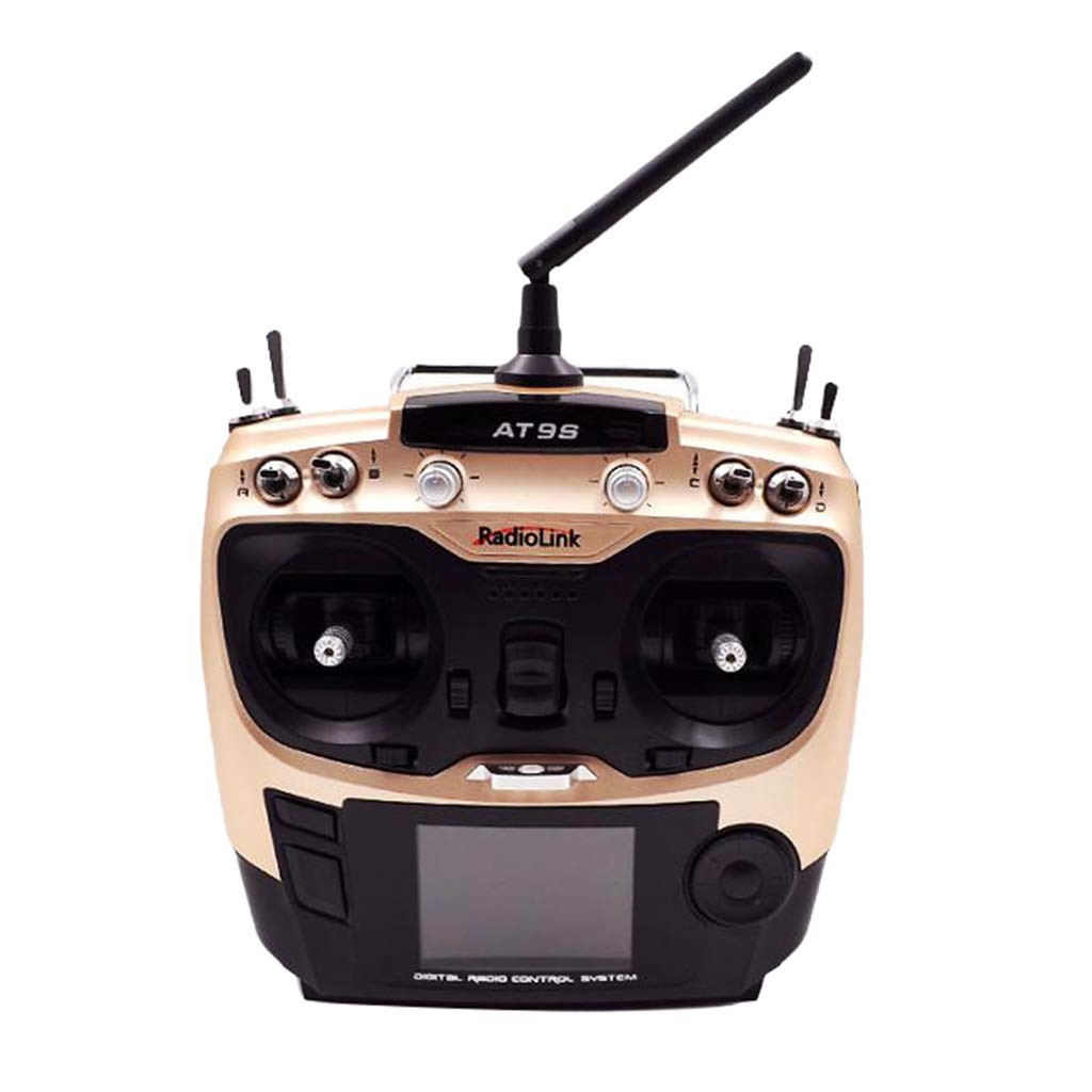 KESOTO Transmisor AT9S y Receptor R9DS para RC Drone Modelos DIY Bricolaje