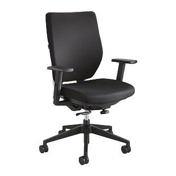 amazon com safco sol task chair arm kit black nylon 2 pair