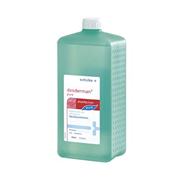 Desderman Pure Handedesinfektion 1 Liter Euroflasche Amazon De