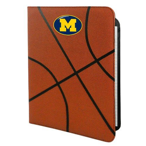 NCAA Michigan Wolverines Classic Basketball Portfolio, (Michigan Portfolio)