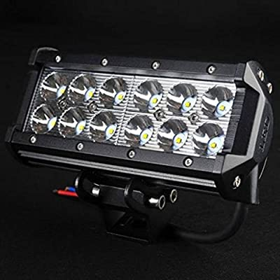 "Penton 2x 36w 7"" Inch Cree Led Work Fog Light Bar Flood Light Offroad for SUV UTE Truck ATV UTV 4wd Boat-pcak of 2"