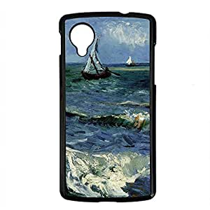 Vincent Van Gogh Design PC Black Case for Google Nexus 5 Sea