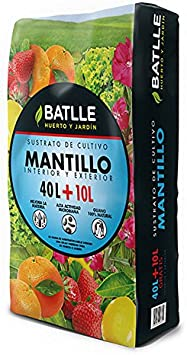 Sustratos Ecológicos - Sustrato Mantillo ecologico 50l. - Batlle