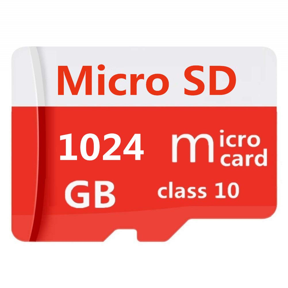 1TB Micro SD SDXC Card High Speed Class 10 Memory Card with Adapter (1tb)
