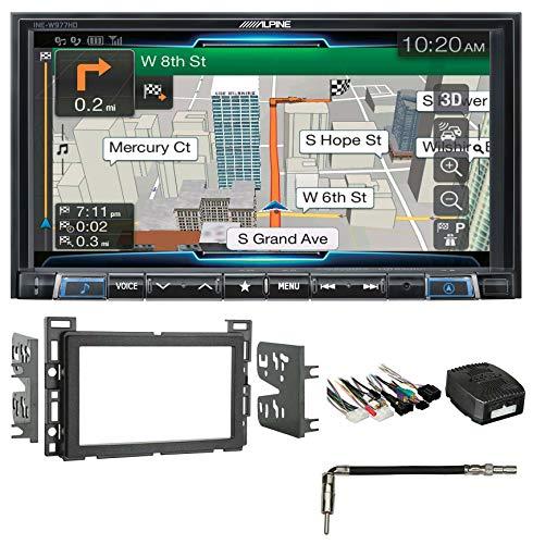 """Alpine 7"""" Bluetooth Receiver w/Navigation/GPS/Carplay for 2009 Pontiac G6"""