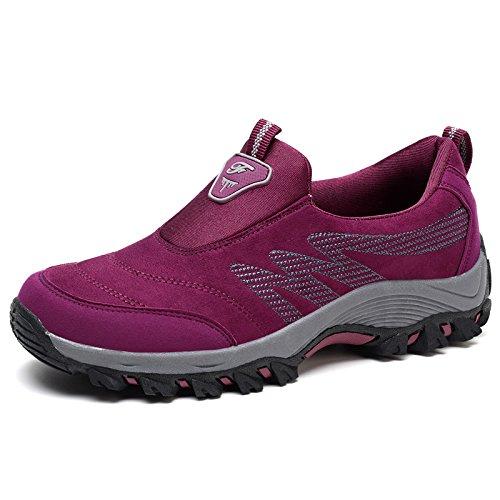 Moyen Hasag Plat dates d'âge Vieilles Chaussures Chaussures M3 de mère Printemps antidérapant red Sport Fond Sport de Souple Chaussures Femme rSaqrw5x