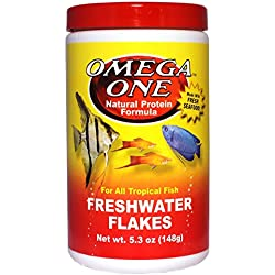 Omega One Freshwater Flakes 5.3oz.