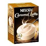 NESCAFÉ Caramel Latte, 8-Count Box, 17g Envelopes (Pack of 6)