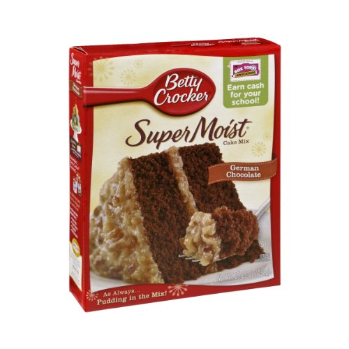 Betty Crocker Super Moist German Chocolate Cake Mix - 15.25 oz