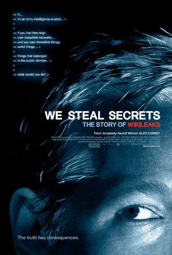 We Steal Secrets: The Story of WikiLeaks (2013) 27 x 40 Movie Poster - Style A (We Steal Secrets The Story Of Wikileaks 2013)