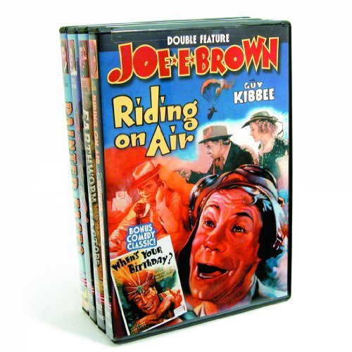 Joe E. Brown Collection: Riding On Air / When's Your Birthday? / Earthworm Tractors / Fit For A King / Painted Faces (4-DVD) (DVD) (1929) (All Regions) (NTSC) (US Import)