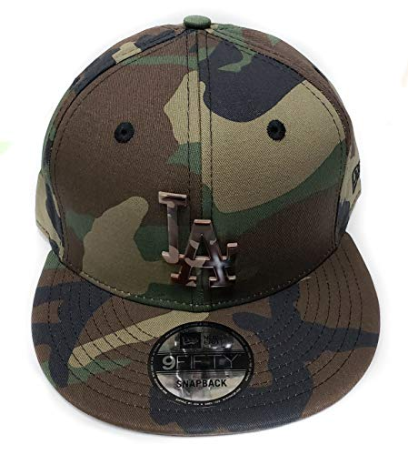 d9cc2130a01 Los Angeles Dodgers Camouflage Caps. New Era Los Angeles Dodgers 9Fifty  Army Camo Capped Adjustable Snapback Hat