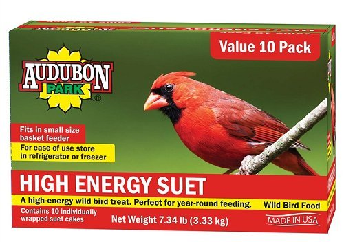 Global Harvest Foods 12770 Food Bird Suet Hi-Energy (10 Pack)