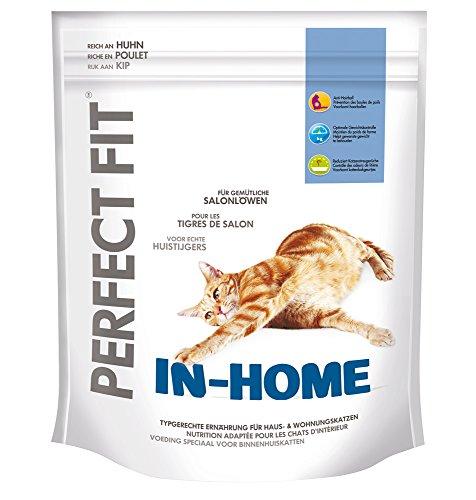 Perfect Fit In-Home Katzenfutter reich an Huhn, 5 Packungen (5 x 750 g)