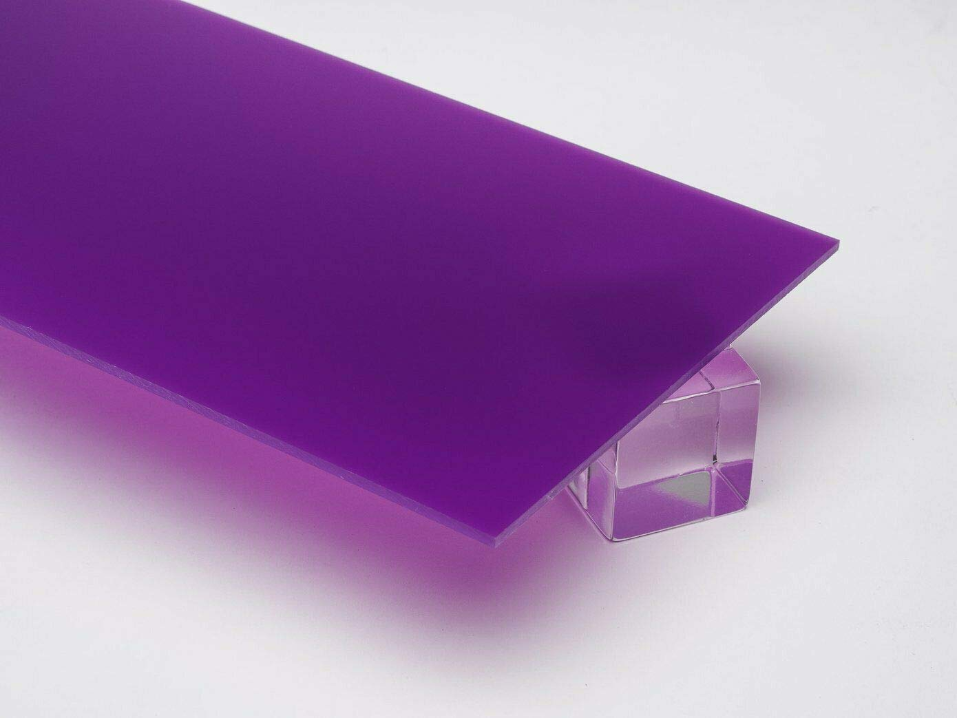 Parma Violet Perspex® Acrylic Sweet Pastel Sheet A5 A4 A3 3mm Thick SA 7562