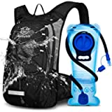 Mothybot Hydration Pack, Insulated Hydration Backpack with 2L BPA Free Water Bladder and Storage, Hiking Backpack for…