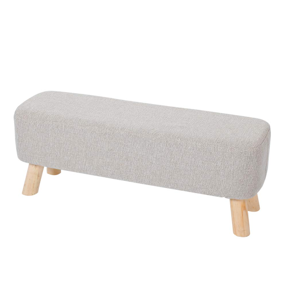 D 6029.5Cm Change shoes Bench, Fabric Door Sofa Bench, Padded Bench, Solid Wood Bench, shoes Bench, Dressing Stool, Footstool, Fashion Store, Creative Stool