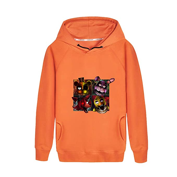 Haililais Five Nights at FreddyS Sudaderas con Capucha Sweatshirts para Niño y Niña Suéter Estampados Jerseys