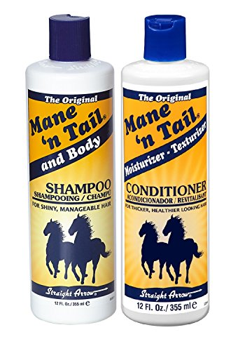 Tail Olive Oil - Mane 'n Tail Original Body Shampoo & Moisturizer Texturizer Conditioner Set 12 oz ea