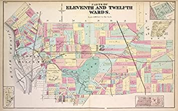 Amazon.com: Historic 1872 Map | Parts of Eleventh and Twelfth Wards on city of buffalo directory, city of buffalo logo, city of buffalo districts, city of buffalo people, city of buffalo tattoo, city of buffalo model, city of buffalo zip codes, city ny map, city md map, city of buffalo employment, city of buffalo seal, buffalo street map, buffalo waterfront map, village of round lake map, buffalo tourism map, city ga map, city of buffalo water, university of buffalo map, city of buffalo flag, buffalo bus map,