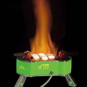 RONSHIN - Quemador de Gas para Camping al Aire Libre 9800 W ...