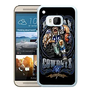 Hot Sale HTC ONE M9 Case ,Popular Unique Designed Case With Dallas Cowboys 01 White For HTC ONE M9 Case High Quality Phone Case