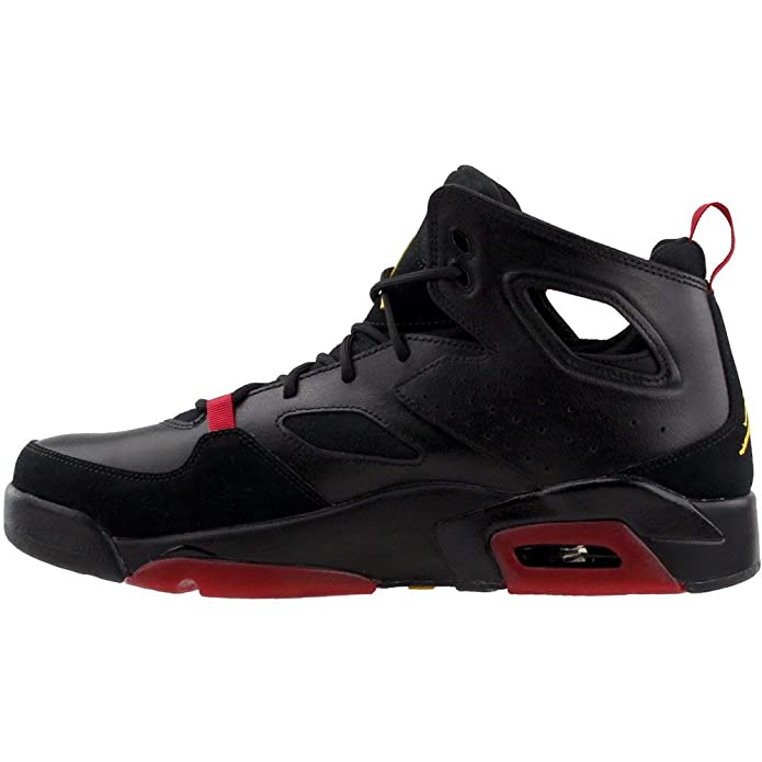 separation shoes 49fe2 687b3 Amazon.com   Jordan Mens Jordan Fltclb  91 Leather Hight Top Lace Up  Basketball Shoes   Basketball