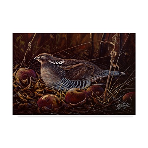 Trademark Fine Art Apples And Grouse by Wilhelm Goebel, - Mark Goebel