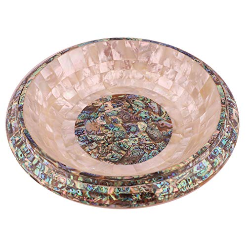 Queenza White Marble Fruit Bowl To Décor Your Kitchen With A Crafted Bowl With Pietra Dura Art 12″ x 12″ White