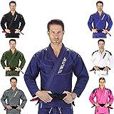 Elite Sports IBJJF Ultra Light BJJ Brazilian Jiu Jitsu Gi W/Preshrunk Fabric & Free Belt