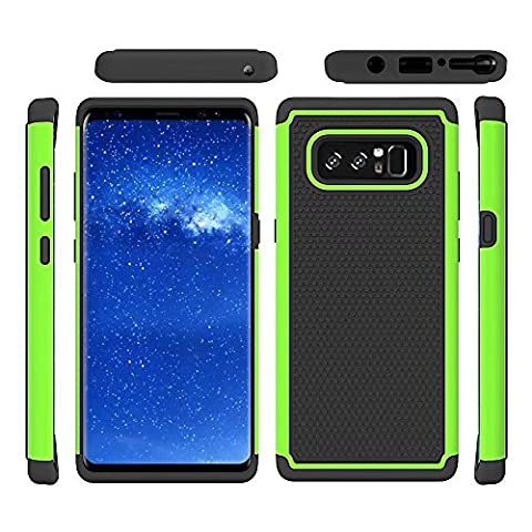 Ball Pattern Phone Shell ,Deluxe Double Shockproof Armor TPU + PC Case Cover For Samsung Galaxy Note 8 Echou (Iphone6 Porch)