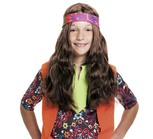 Kids Long Hippie Wig Paper Magic Group