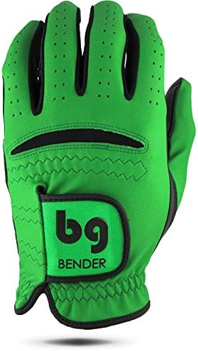 Synthetic Cabretta Leather Golf Gloves for Men, Right Handed Golfing Worn on Left Hand – BenderGloves