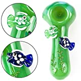 LCD Newest 4 Inch Glāss Sm0king Pipe (Three-Dimensional Fish Shape)