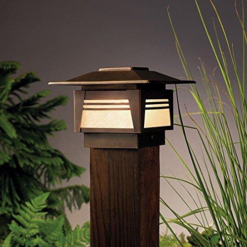 Kichler Zen Garden Post Light in Florida - 1