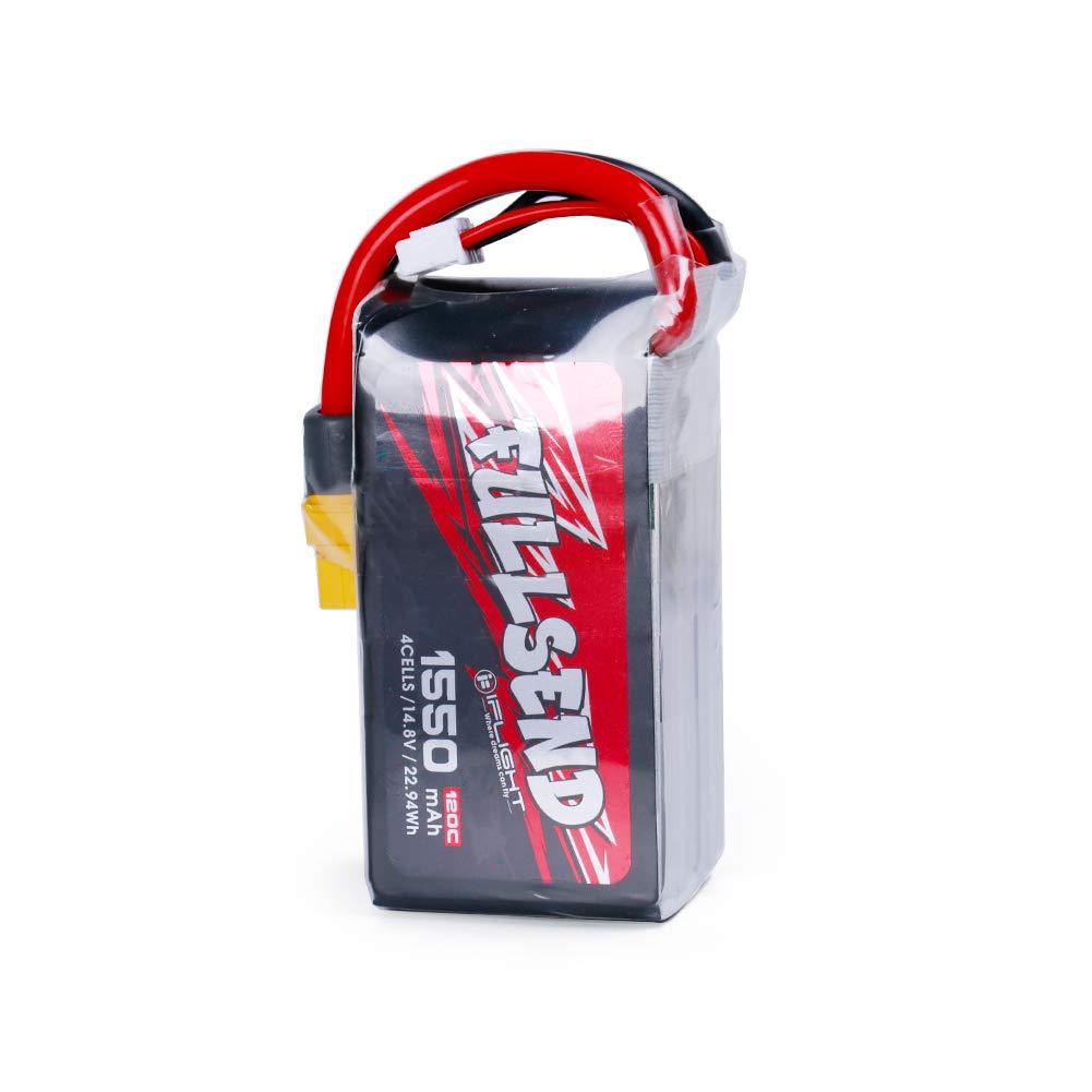 Bateria Lipo IFlight FULLSEND 1550mAh 120C 14.8V 4S XT60 Plu