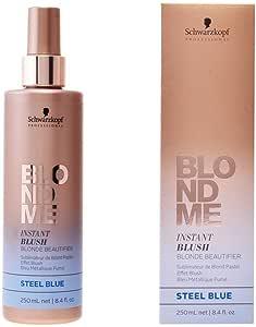 Schwarzkopf Professional BlondMe Instant Blush Blonde Beautifier 250ml Steel Blue