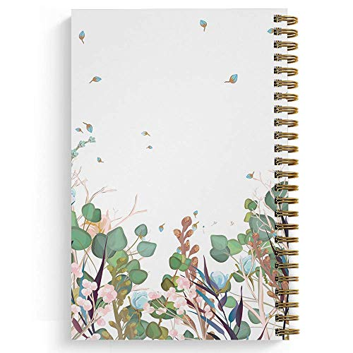 """Wonderfully Made Personalized Notebook/Journal, Laminated Soft Cover, 120 College Ruled or Checklist pages, lay flat wire-o spiral. Pick your size, 8.5"""" x 11"""", 5.5"""" x 8.5"""". Made in the USA Photo #4"""