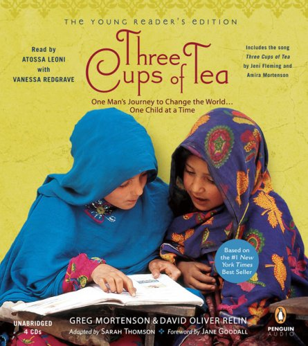Three Cups of Tea: Young Readers Edition: Young Reader's Edition by Penguin Audio