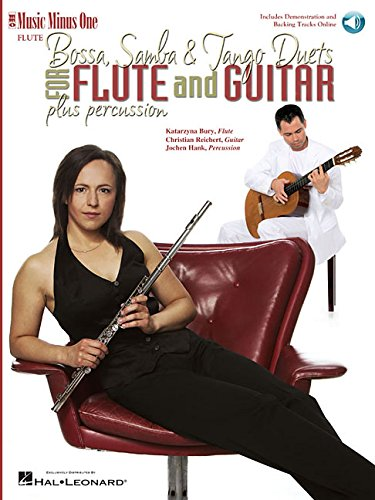 - Bossa, Samba and Tango Duets for Flute & Guitar: Music Minus One FLUTE Edition