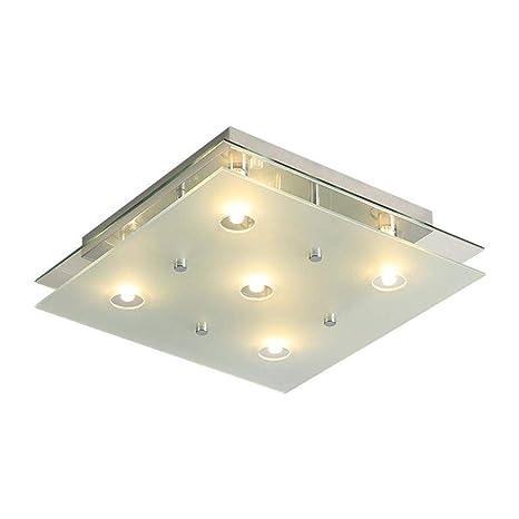 Amazon.com: ZGY - Lámpara de techo de acero inoxidable ...