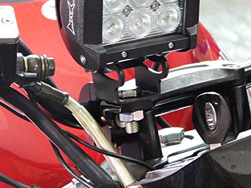 Very High Quality Motorbike Spotlight Fog Light Brackets Clamps CNC Machined 25mm 1 Diameter