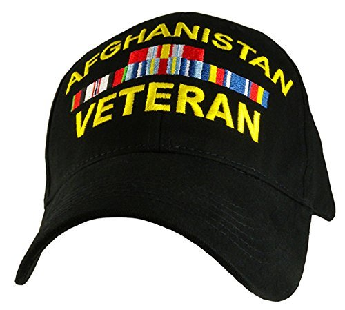 Afghanistan Veteran Hat Military Caps for Men Women Military Collectibles Gifts