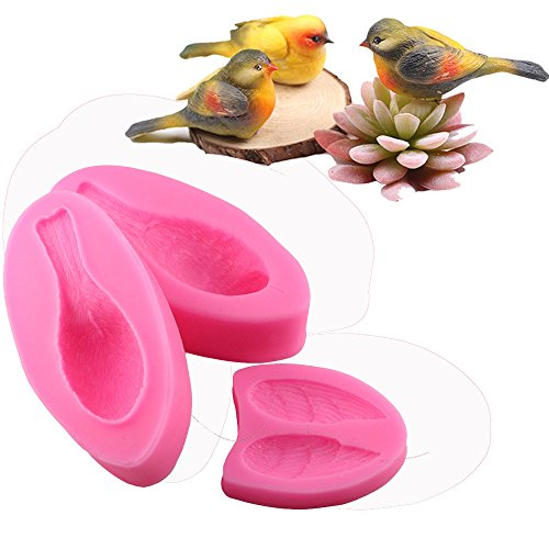 WYD Handmade Soap Mold DIY 3D Forest Bird Mold Chocolate Cake Mold Silicone Mold Baking Mold by WYD (Image #4)