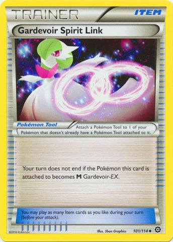 Pokemon - Gardevoir Spirit Link (101/114) - XY Steam Siege ()