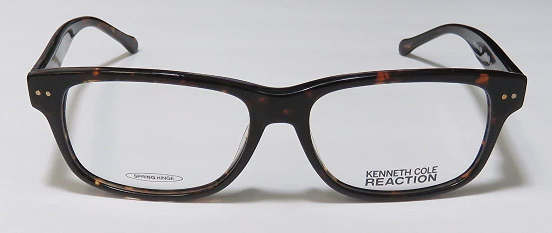 81b8d352037 Amazon.com  Kenneth Cole Reaction Rx Eyeglasses - 8008 052 Dark Brown -  54 15 140  Clothing