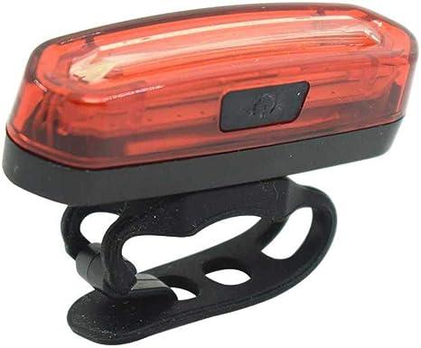 Taoshi CBEC Mountain Road Bicicleta Luz Trasera Rojo Impermeable Ciclismo Advertencia de Seguridad Luz Intermitente Lámpara Trasera Accesorios para Bicicleta: Amazon.es: Deportes y aire libre