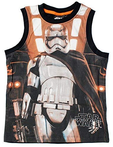 Boys Star Wars Kylo Ren Stormtrooper Force Awakens Vest Tank Top Sizes from 4 to 10 Years