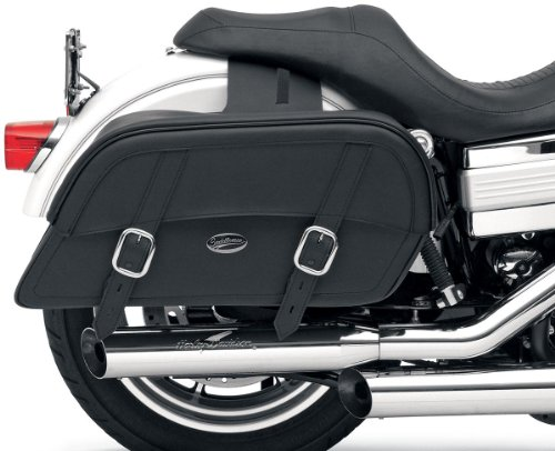 Saddlemen 3501-0319 Large Drifter Slant Saddlebag (Large Slant Saddlebags)