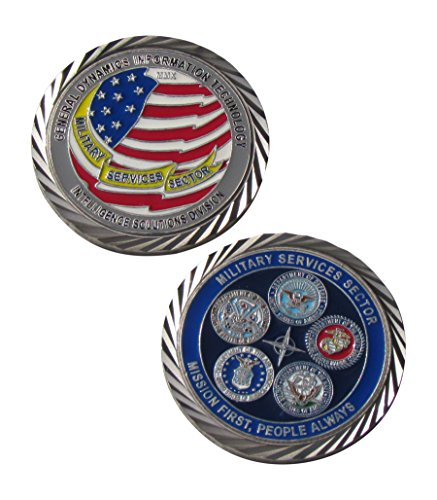 General Dynamics Intelligence Solutions Division Challenge Coin